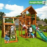 Детский городок Jungle Gym Palace + Climb Module Xtra